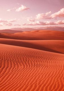 Le désert comme source d'énergie photovoltaïque