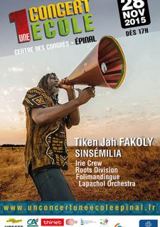 Solidarités en musique à Épinal
