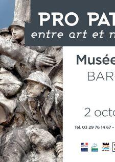 Expo Pro Patria: entre art et mémoire au Musée barrois