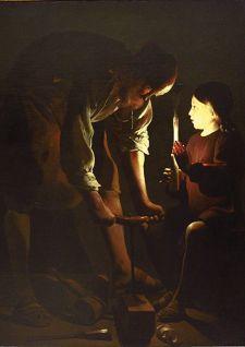 À la lumière d'un chef-d'œuvre: Saint Joseph charpentier de Georges de La Tour
