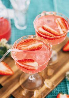 Eau de coco & fraises
