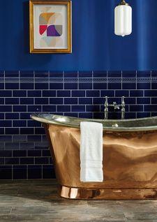 Une touche de cuivre dans ma salle de bains