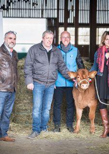 Parrainage du premier veau « Stabiliser » en France