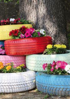 Idées DIY et récup pour embellir son jardin