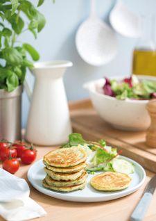 Mini-pancakes au yaourt