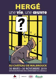 Exposition «Hergé : une vie, une oeuvre»