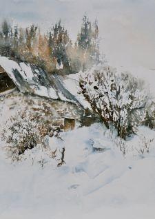 L'aquarelle s'expose à la Douëra!