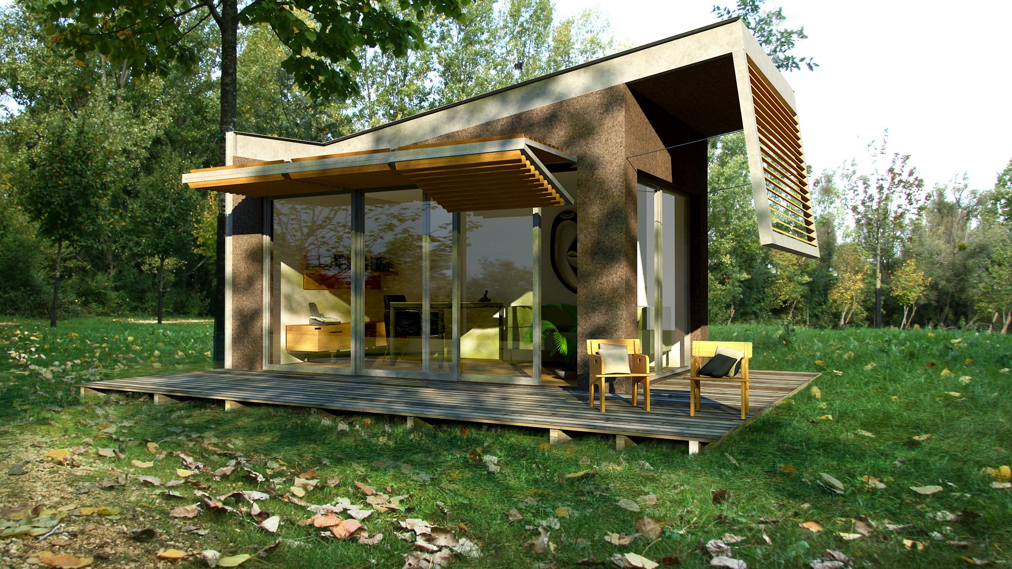 installez votre bureau dans le jardin lorraine magazine. Black Bedroom Furniture Sets. Home Design Ideas