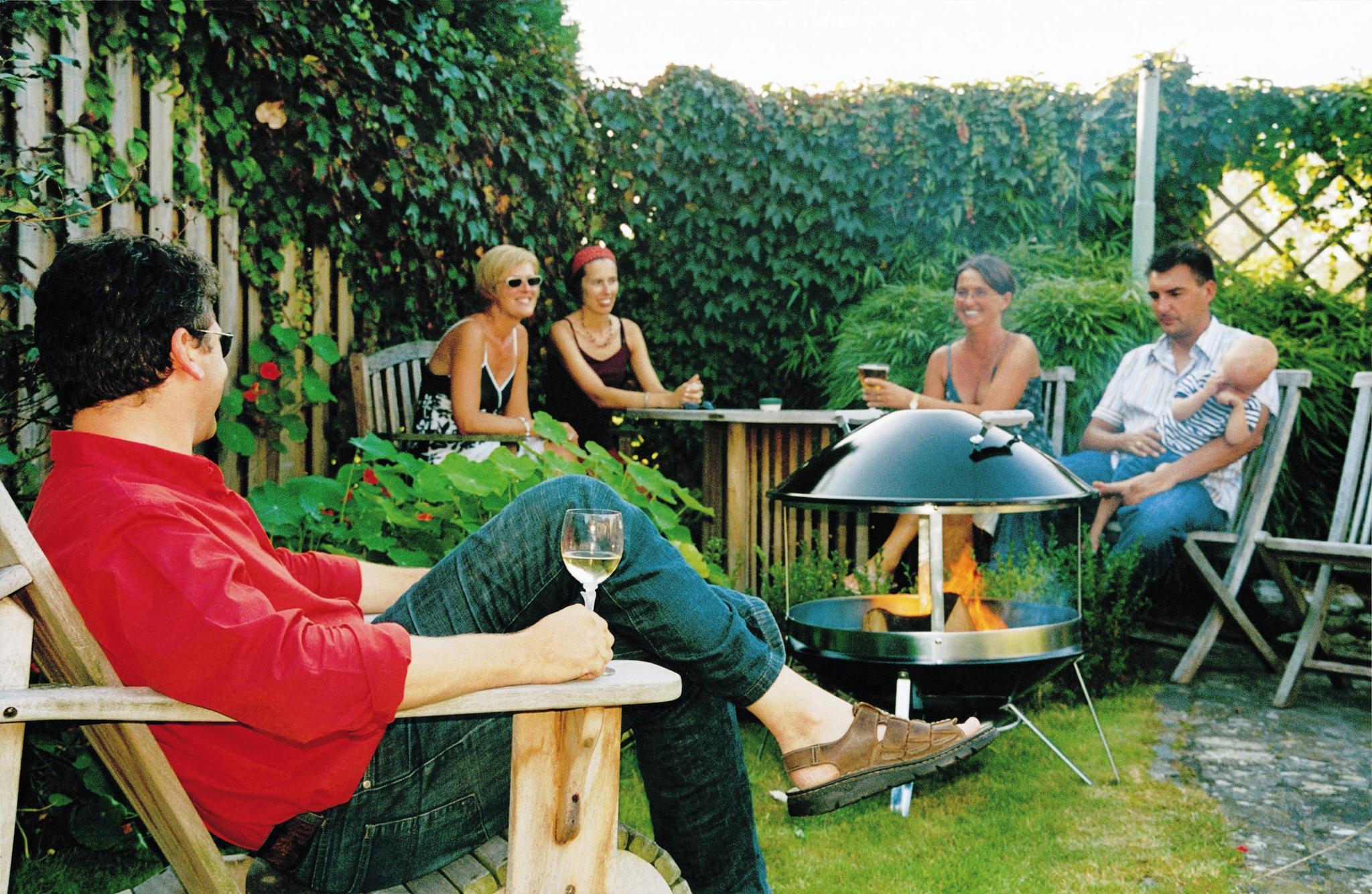 Terrasse chauff e svp lorraine magazine for Cheminee exterieur weber