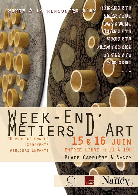 Week end des metiers d art lorraine magazine - Metiers d art lorraine ...
