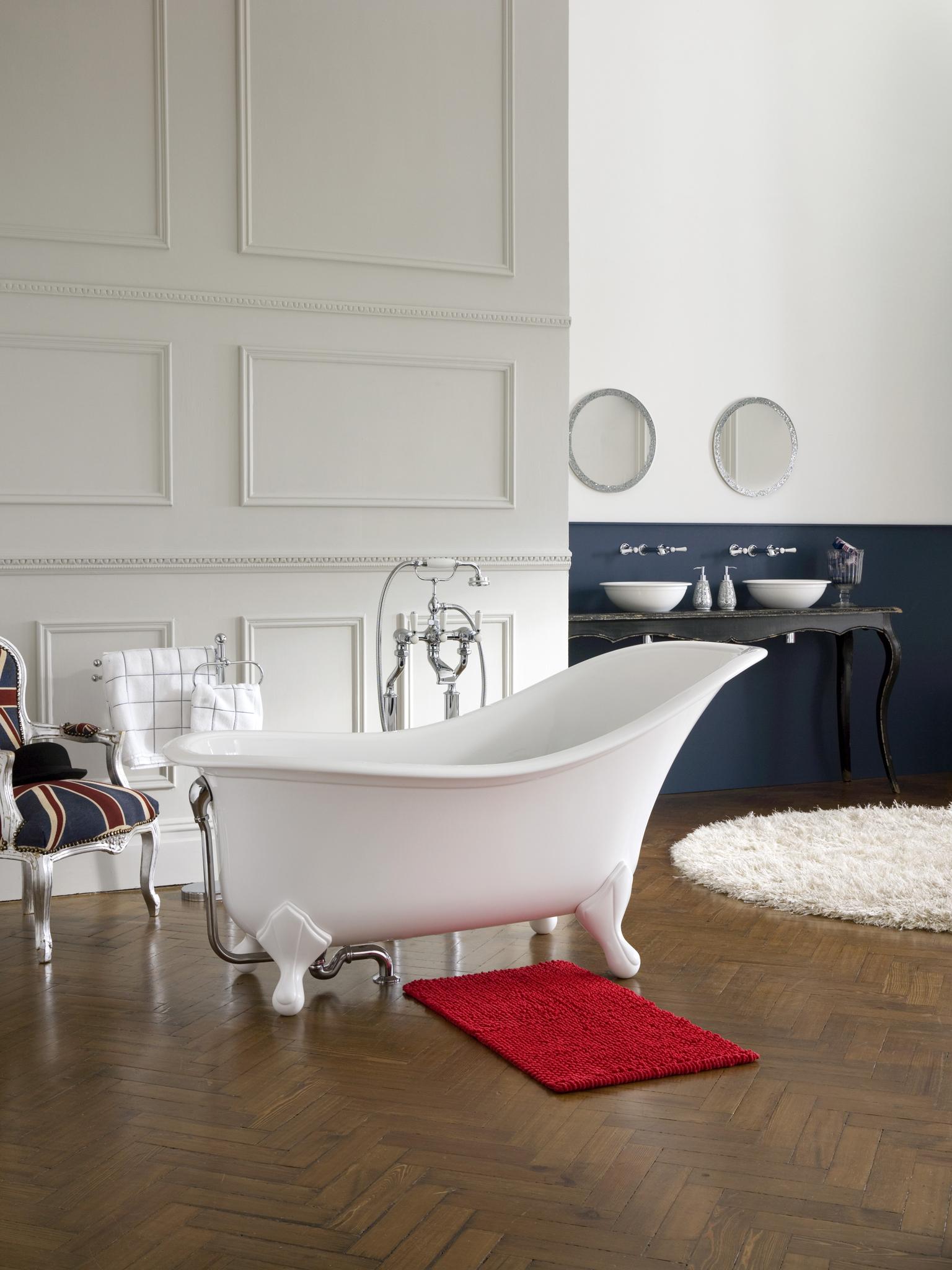 La salle de bains en îlot central « Lorraine Magazine
