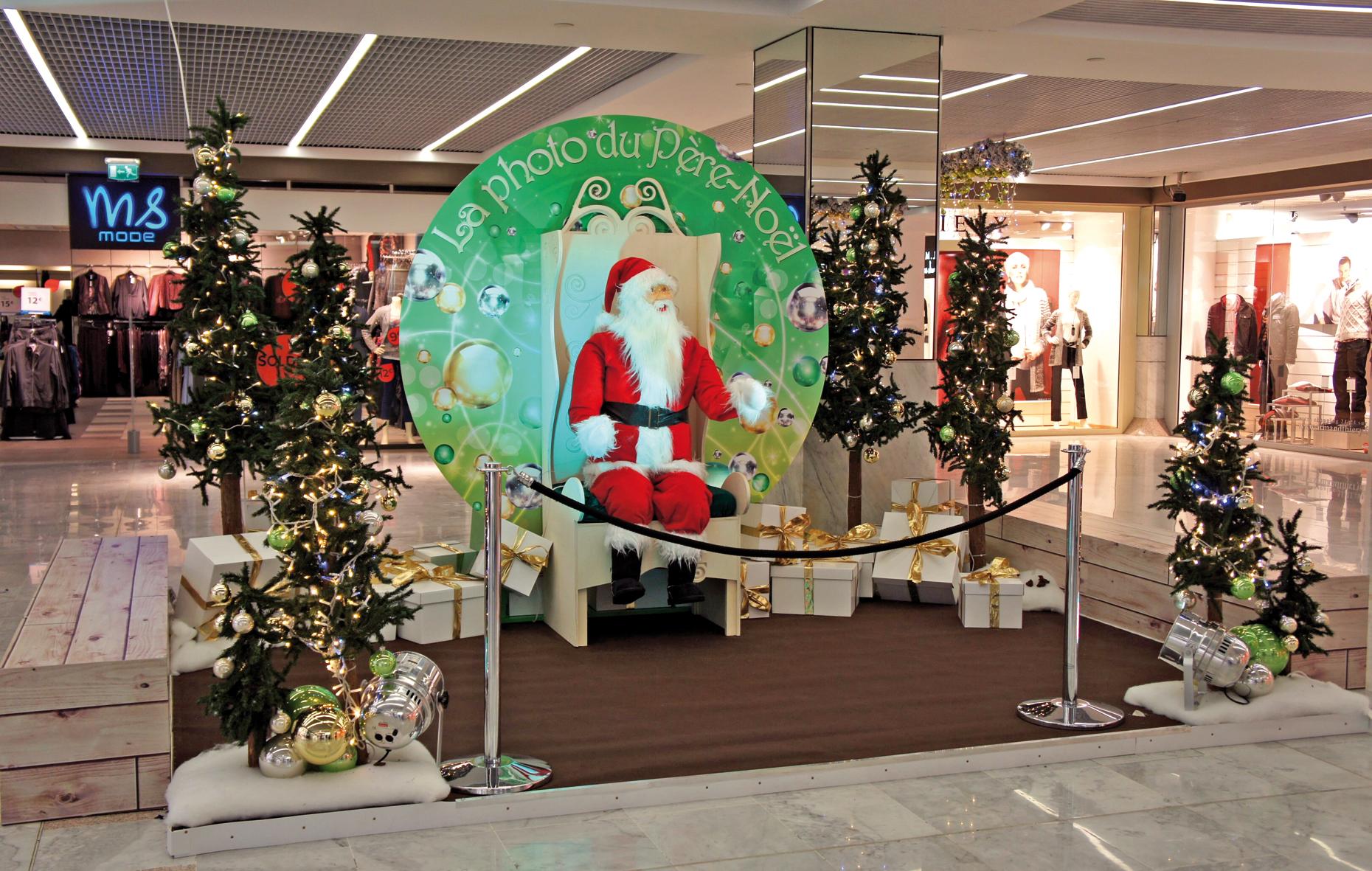 #2C8846 La Féérie Continue Au Centre Commercial Saint Sébastien  5363 decorations de noel centre commercial 1860x1181 px @ aertt.com