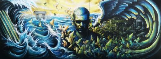 Fresque SCY avec metra et azer Pour Underground Rugissement #7 w