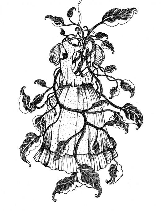 Illustration du livre un Ruban autour d'une bombe, éditions Nada, octobre 2013
