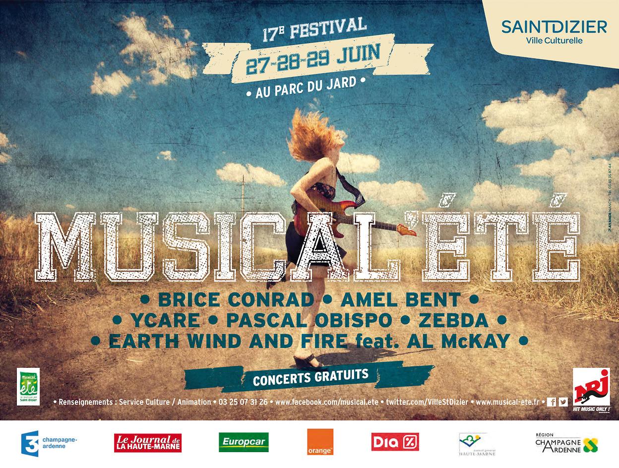 17e dition du festival musical t saint dizier for Parc du jard saint dizier