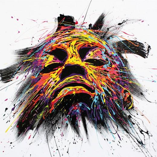 Respiration - 100 x 100 cm -2015