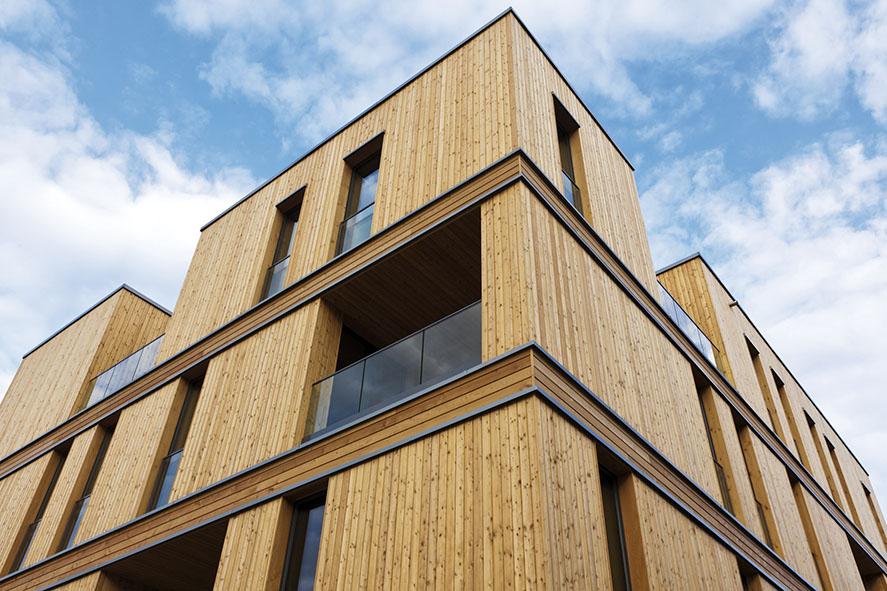 Les avantages de la maison en bois lorraine magazine for Avantages maison bois
