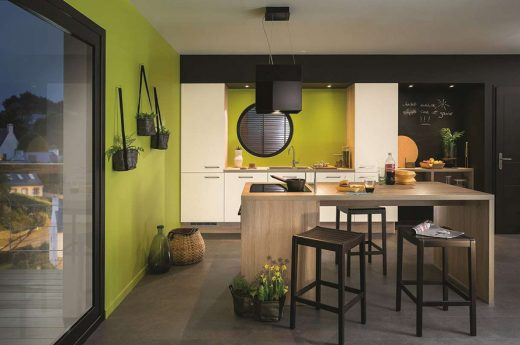le vert a t il sa place dans la cuisine lorraine magazine. Black Bedroom Furniture Sets. Home Design Ideas