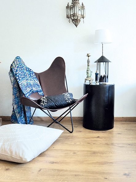 du cuir dans toute la maison lorraine magazine. Black Bedroom Furniture Sets. Home Design Ideas
