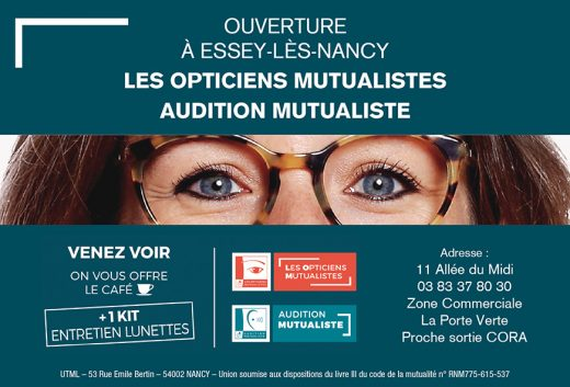 Ouverture d un nouveau centre optique-audition mutualiste à Essey ... aedd71cb43b8