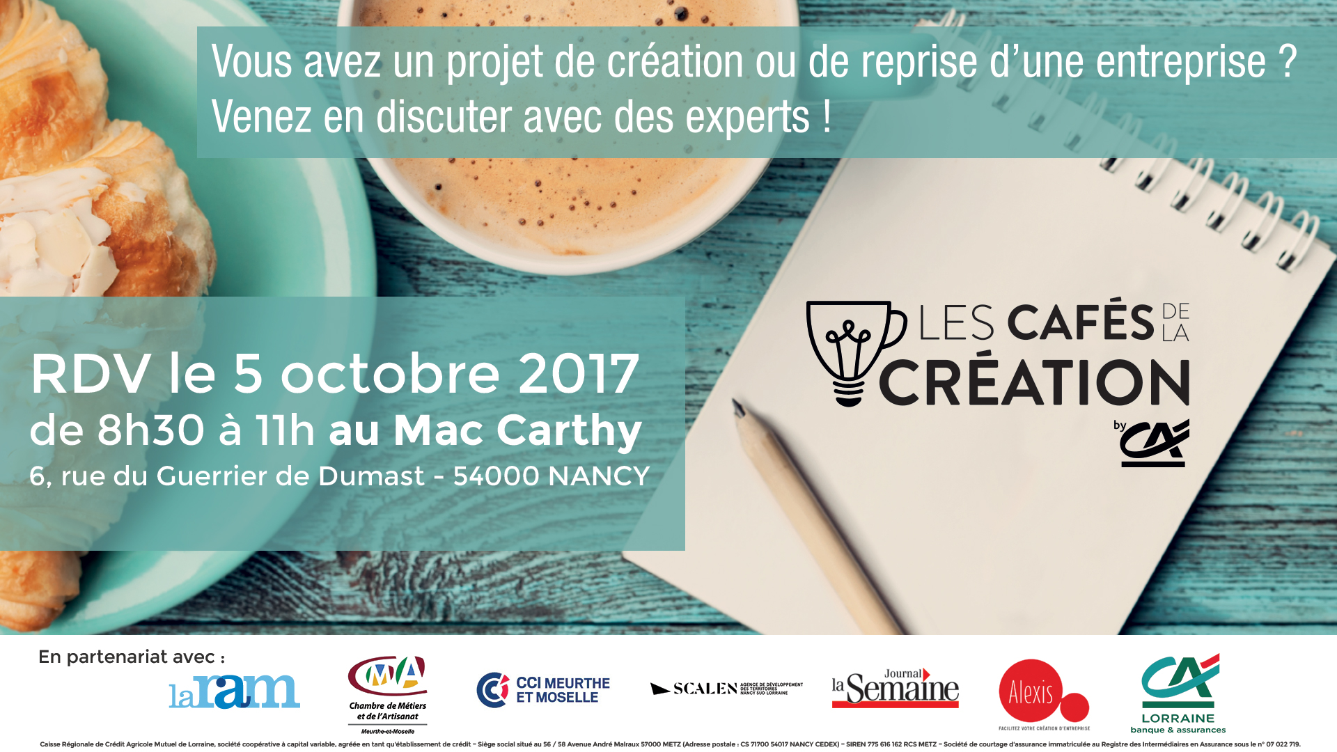 Cafés de la Création Lorraine Magazine